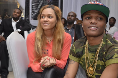 Wizkid with Girlfriend