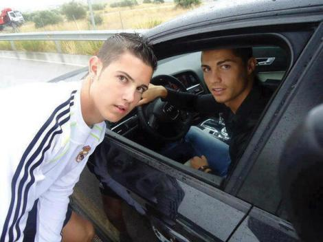 Christiano  Ronaldo Look  alike