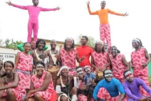 Zambian dance group