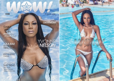 Yvonne Nelson Covers WOW Magazine